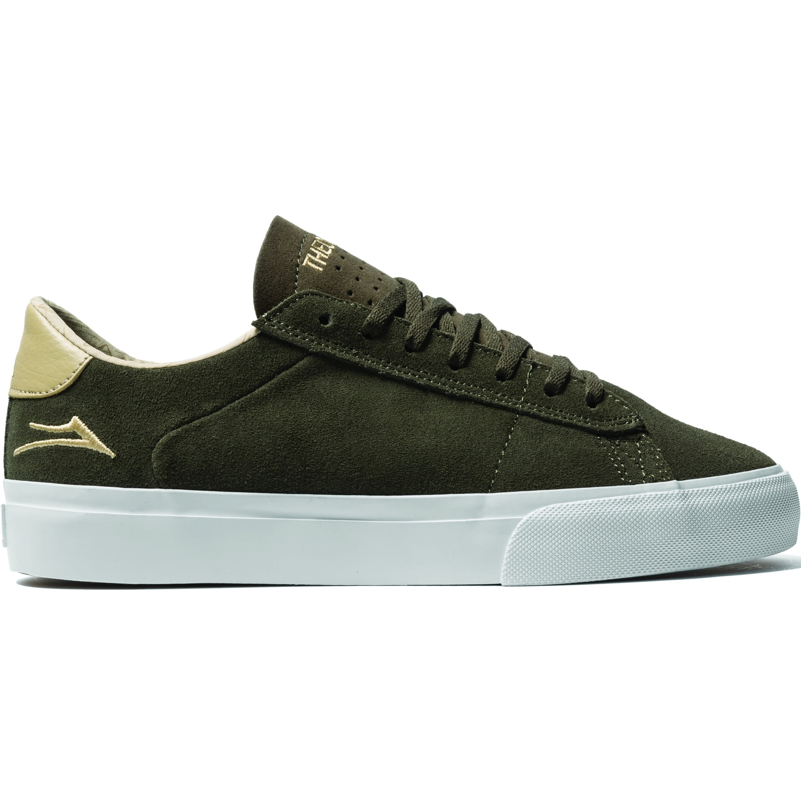 Newport Low (Olive/Sand Suede)