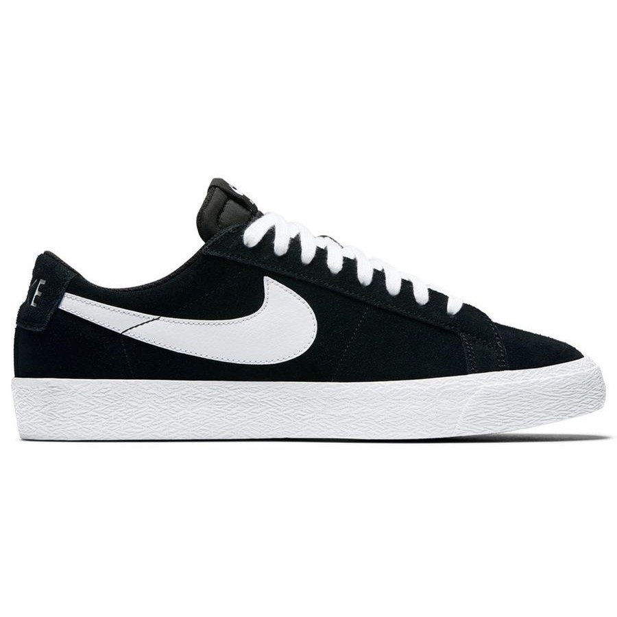 76031ece78 Nike SB Nike SB Zoom Blazer Low (Black White-Gum Light Brown)