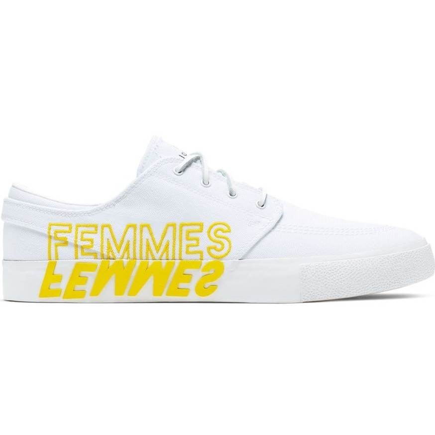 Nike SB Zoom Janoski RM QS (White/Clear-White-Tour Yellow)