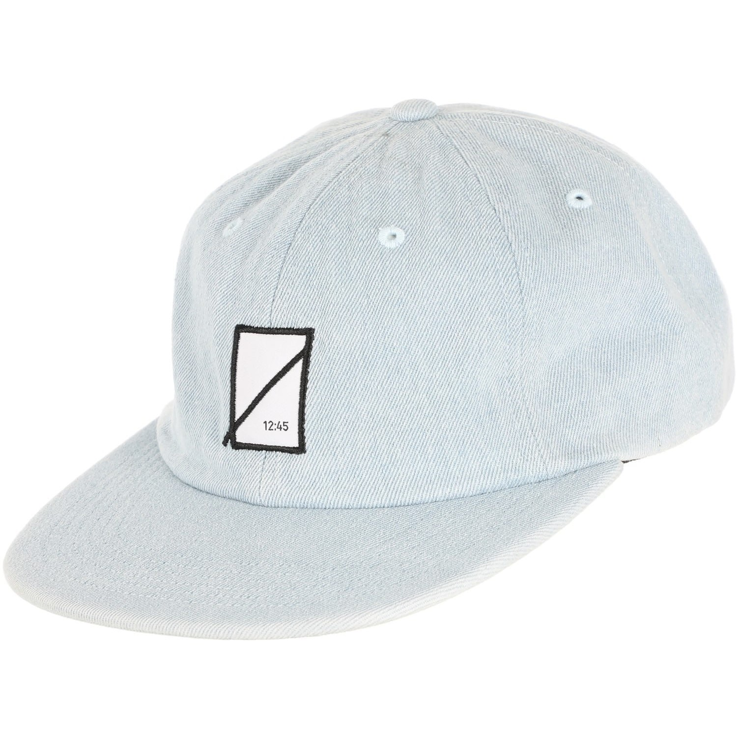49b4b9f5d Edition Symbol Denim 6-Panel Hat (Bleached Indigo)