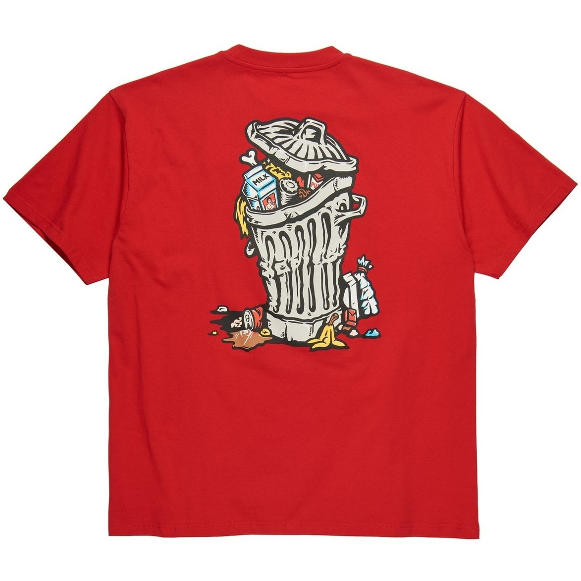 Trashcan Tee (Red)