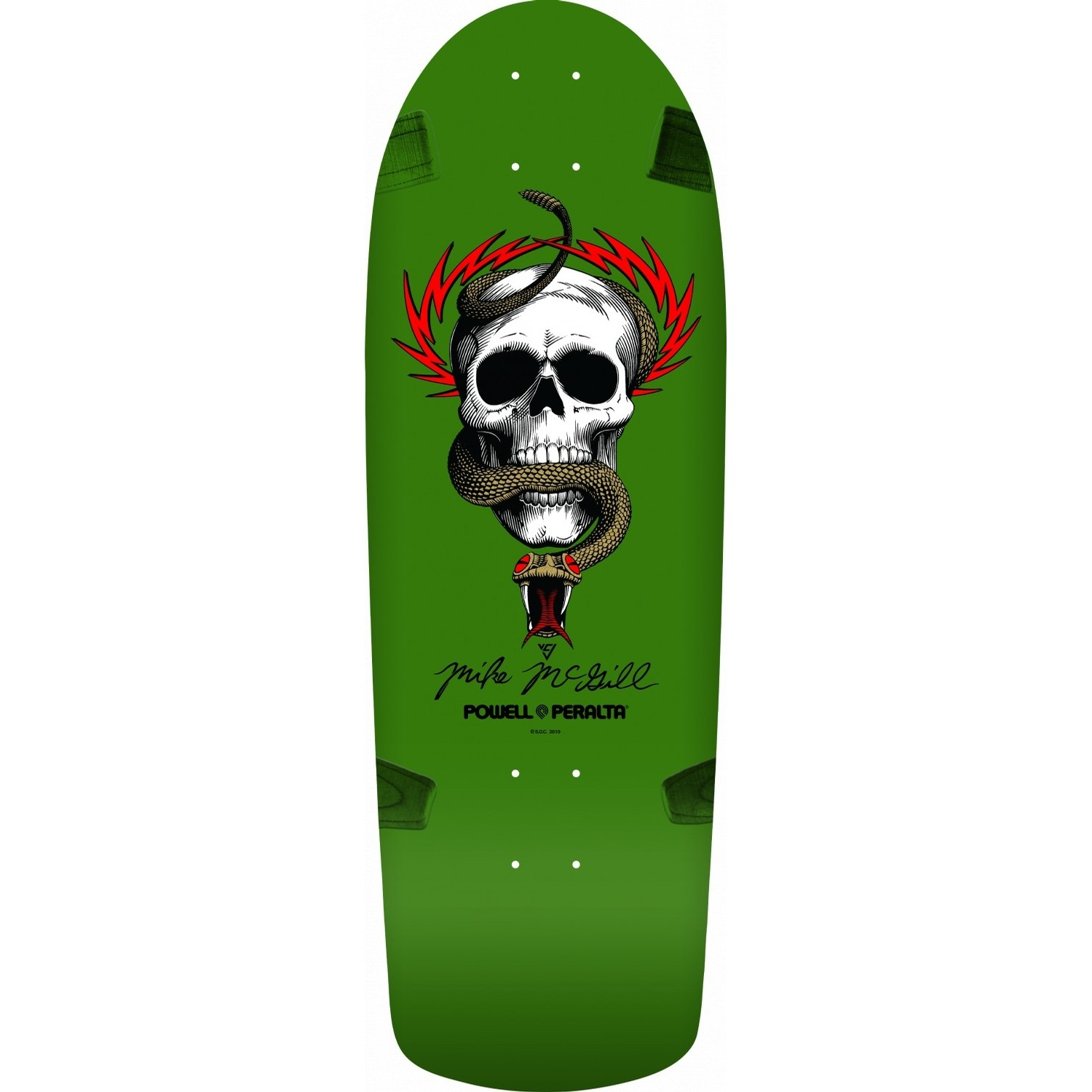McGill OG Skull and Snake Deck (10.0)