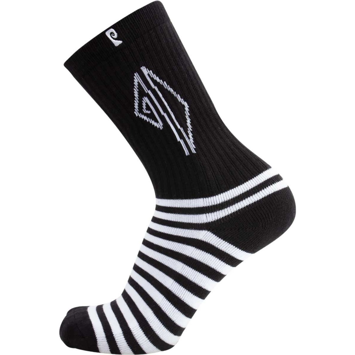 Dollin Stripes Psock (Black/White)