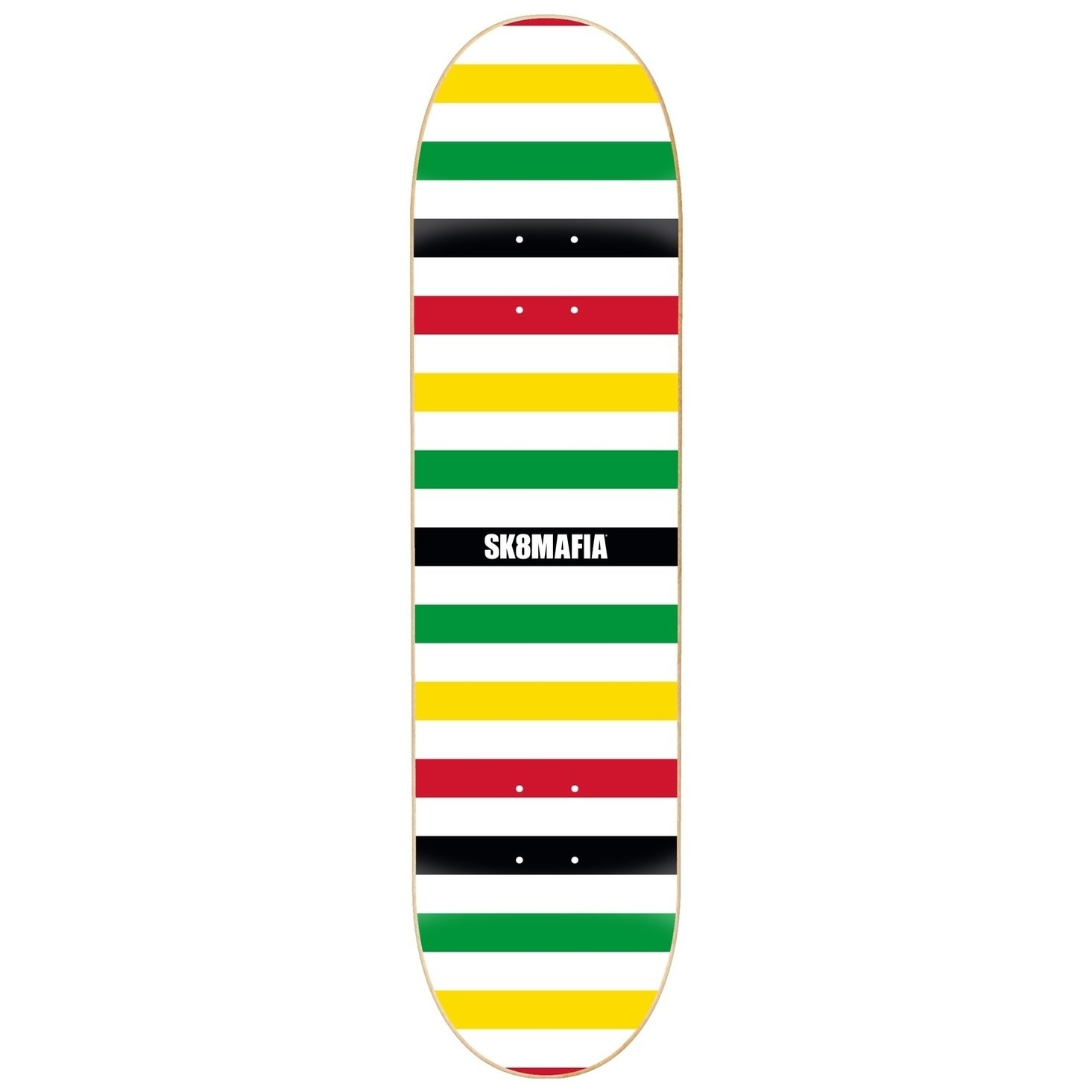 Basic Logo Rasta Deck (8.0)