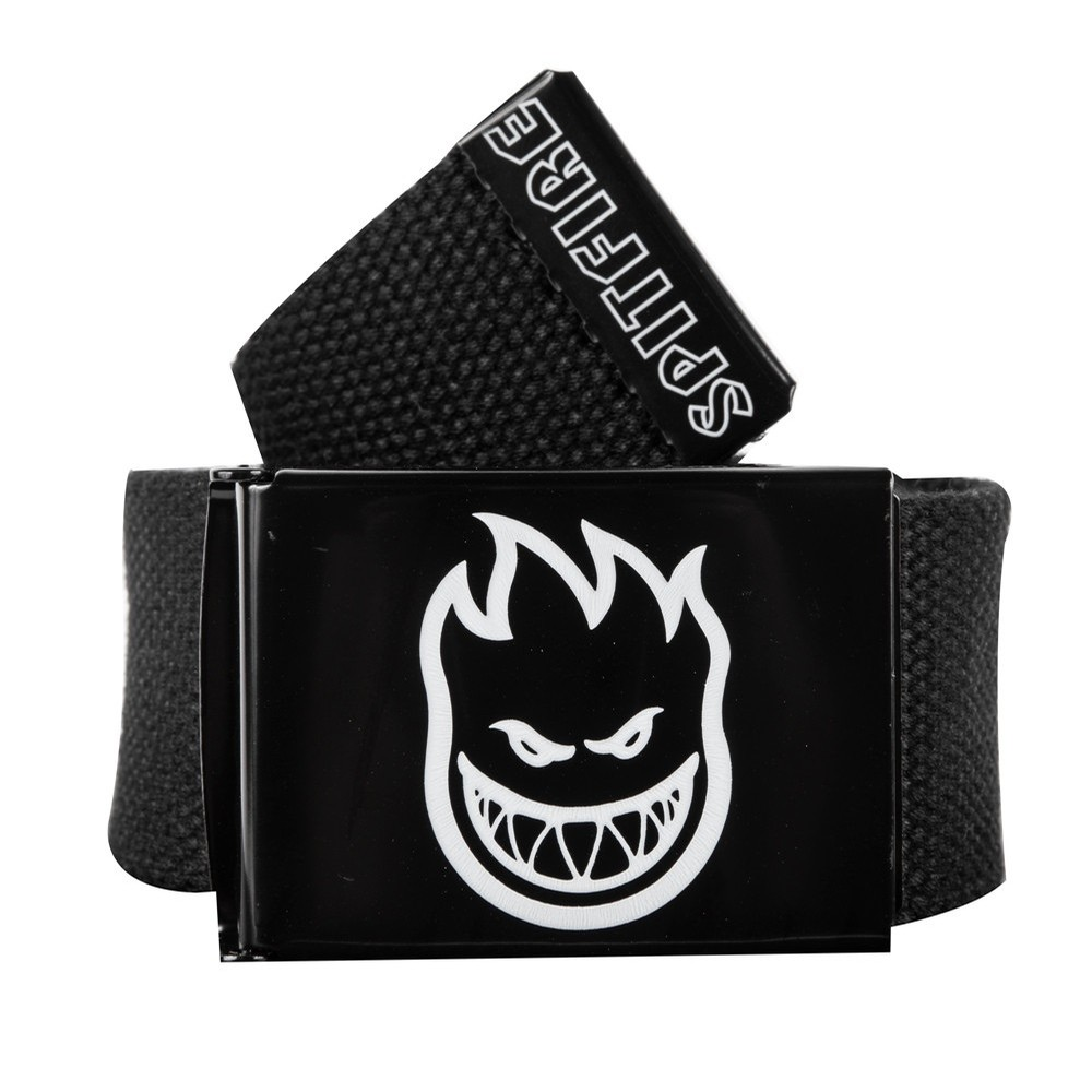Bighead Hombre Outline Belt (Black/White)
