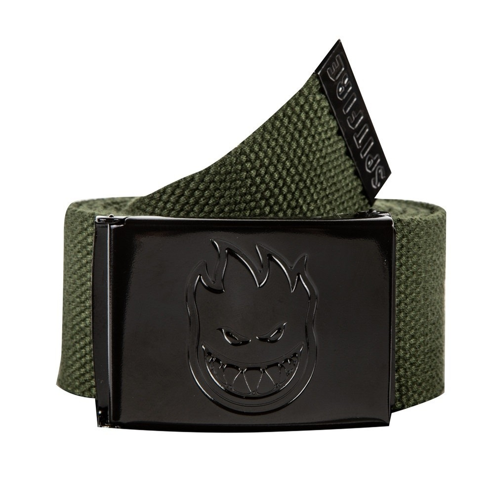 Bighead Hombre Outline Belt (Dark Army/Black)