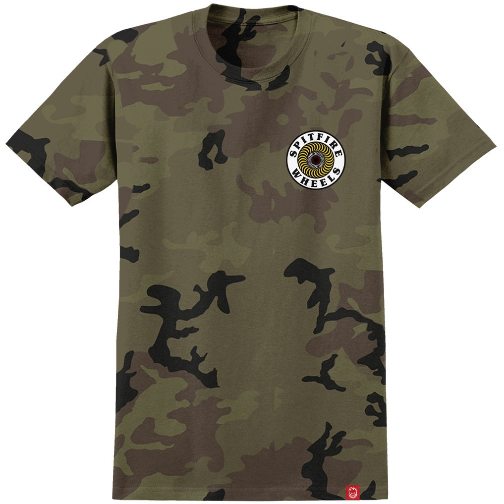 OG Circle S/S Tee (Camo/White/Yellow)