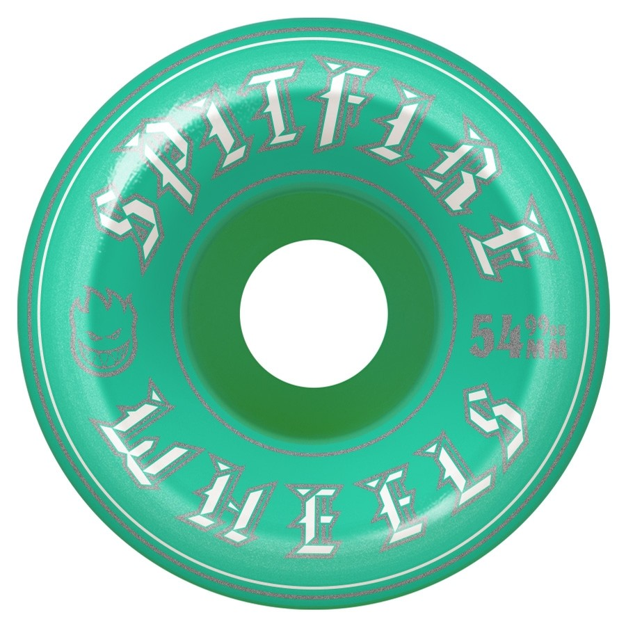 Old English Wheels (Turquoise)