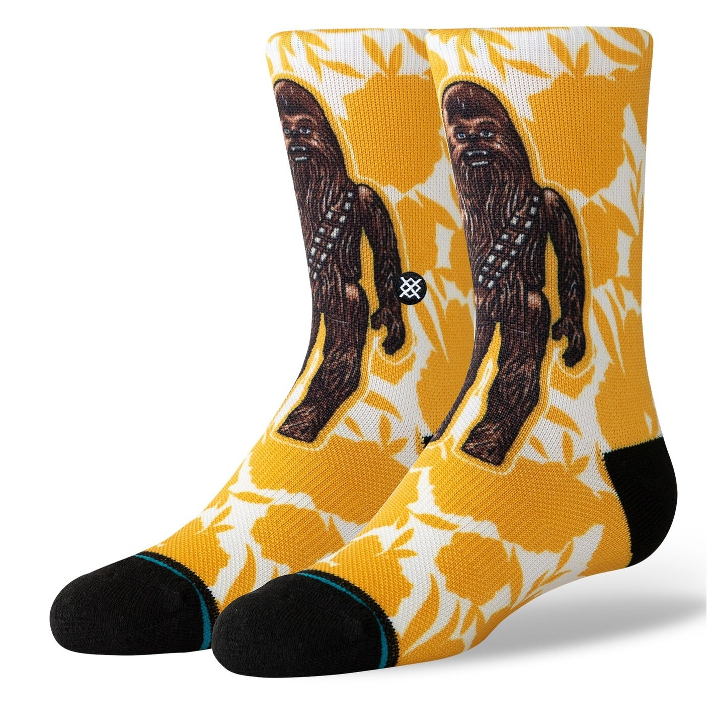 Floral Chewie Kids (Yellow)