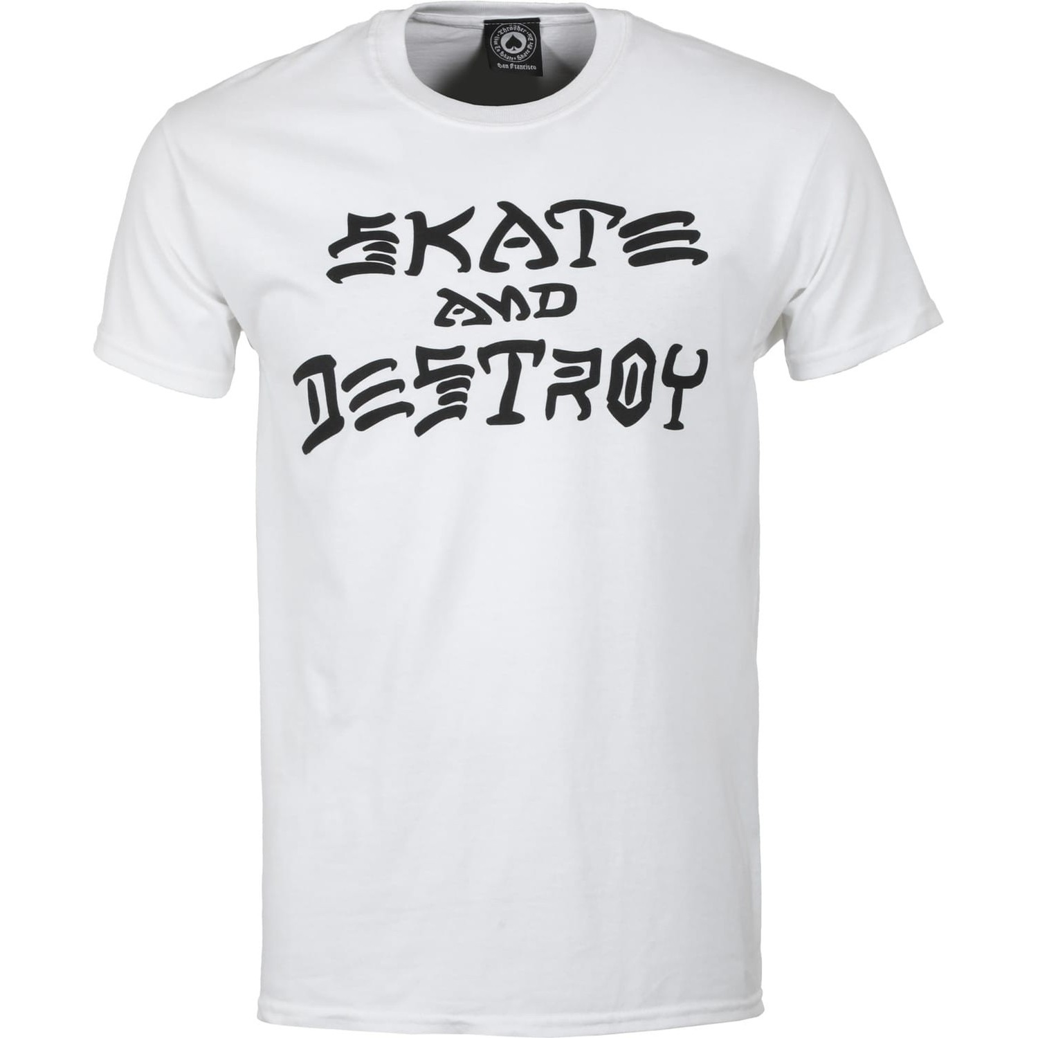 Skate and Destroy S/S Tee (White)