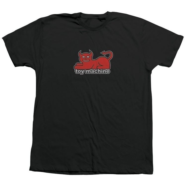 Devil Cat Tee (Black)