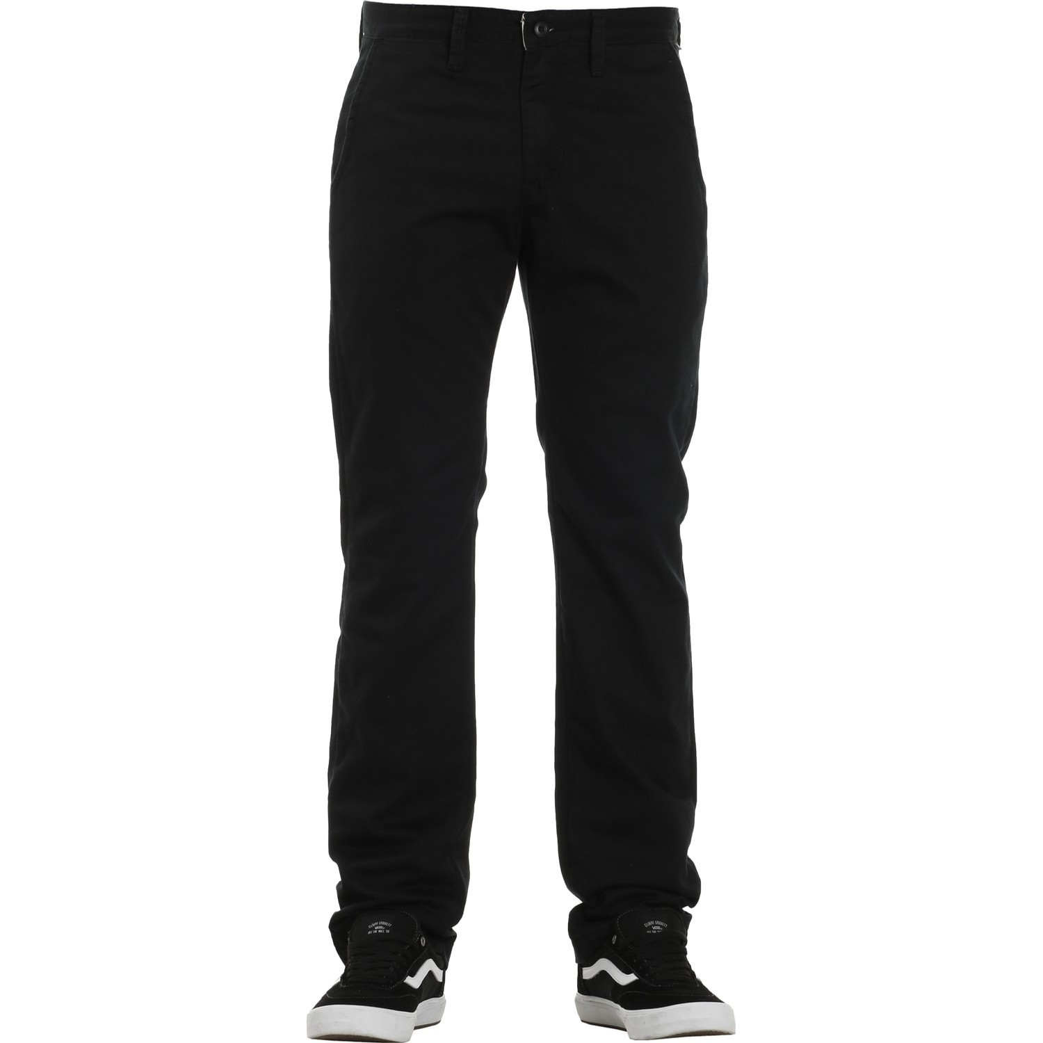 Authentic Chino Stretch Pant (Black)