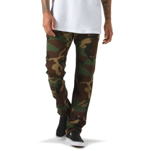 Authentic Chino Stretch Pant (Camo)