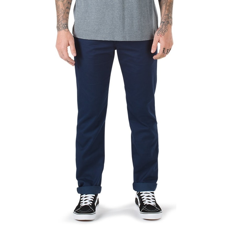 Authentic Chino Stretch Pant (Dress Blues)