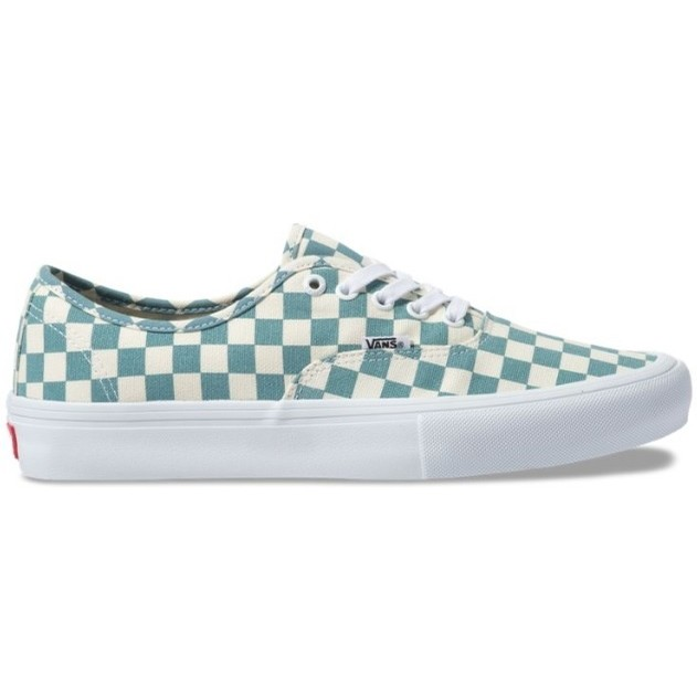 Authentic Pro (Checkerboard) Smoke Blue