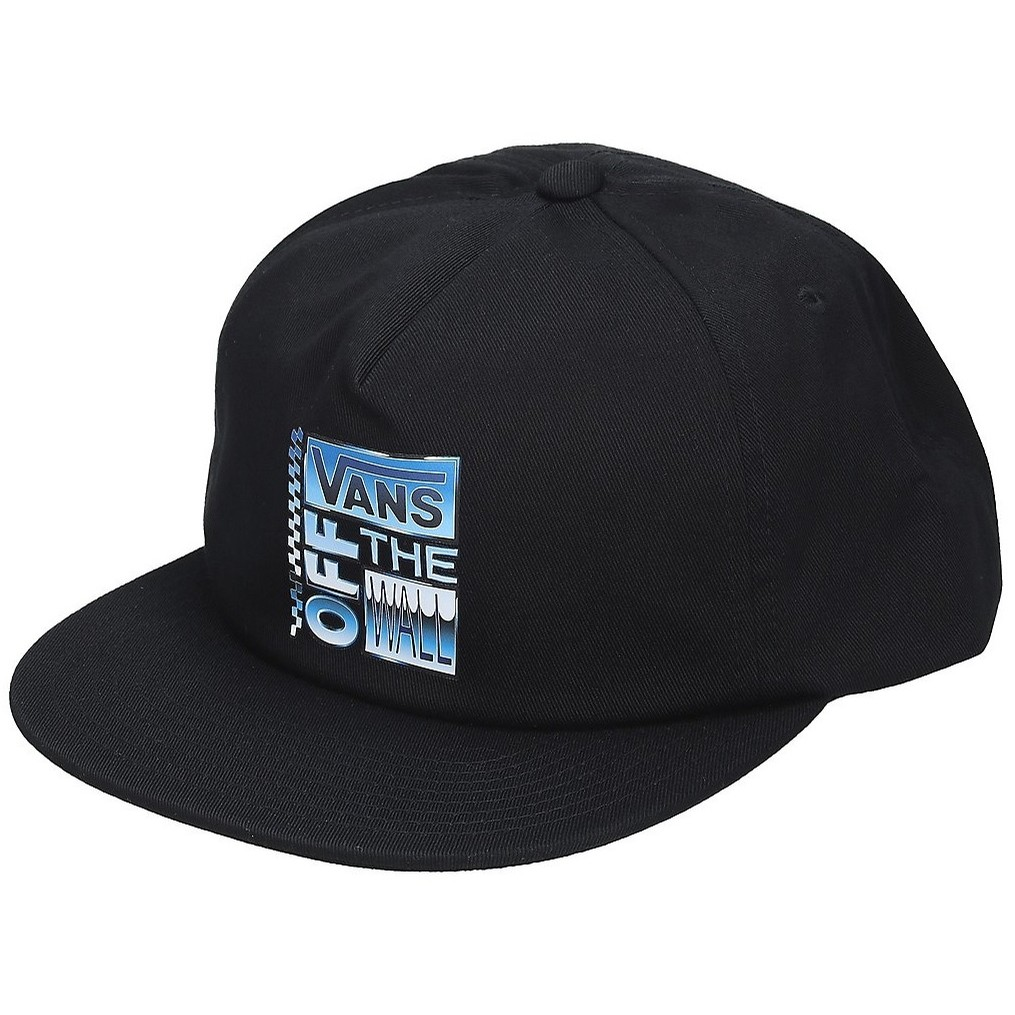 AVE Chrome Shallow Unstructured Hat (Black)