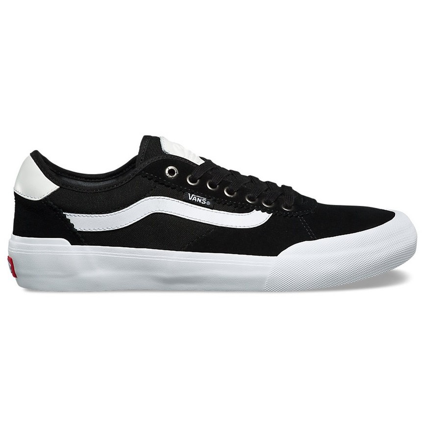Chima Pro 2 (Suede/Canvas) Black/White