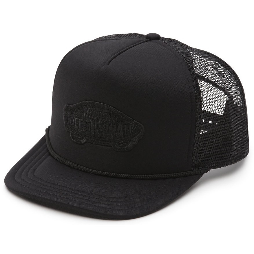 Classic Patch Trucker (Black)
