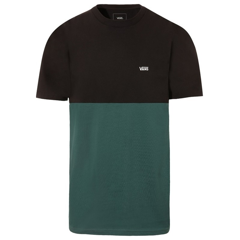 Colorblock Tee (Black/Vans Trekking Green)