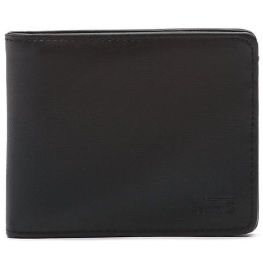 Drop V Bifold Wallet (Black)