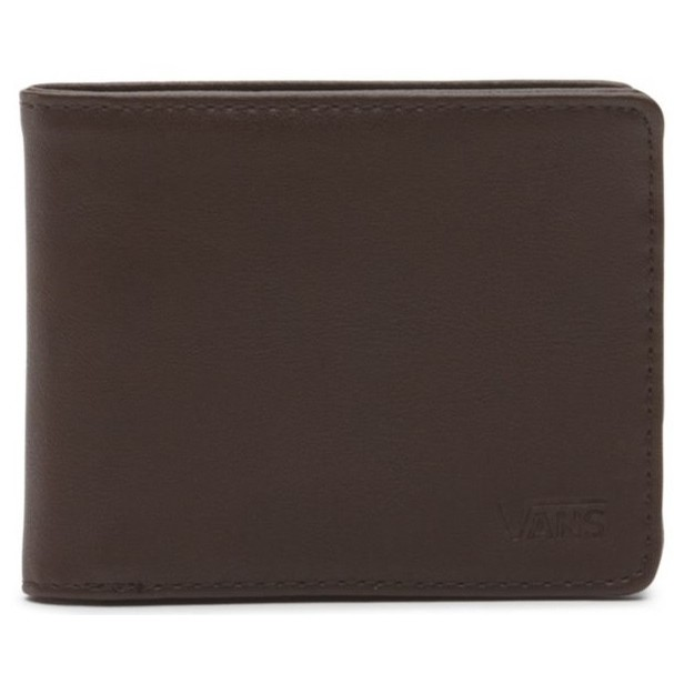 Drop V Bifold Wallet (Dark Brown)