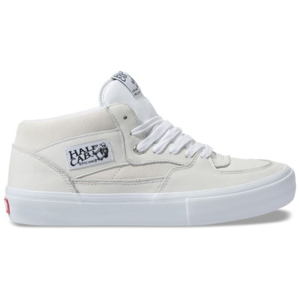 Half Cab Pro (Leather) White