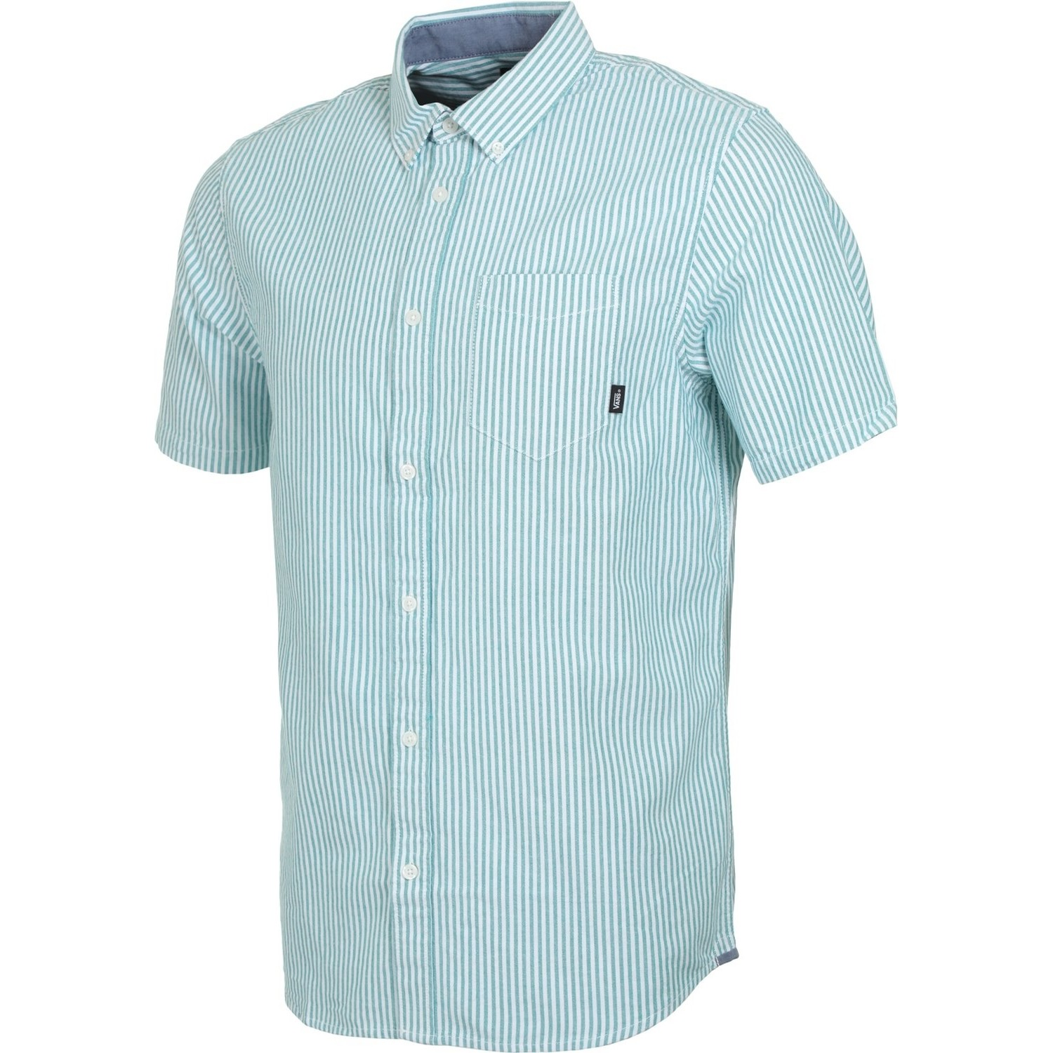 Houser S/S Buttondown (Quetzal Stripe)