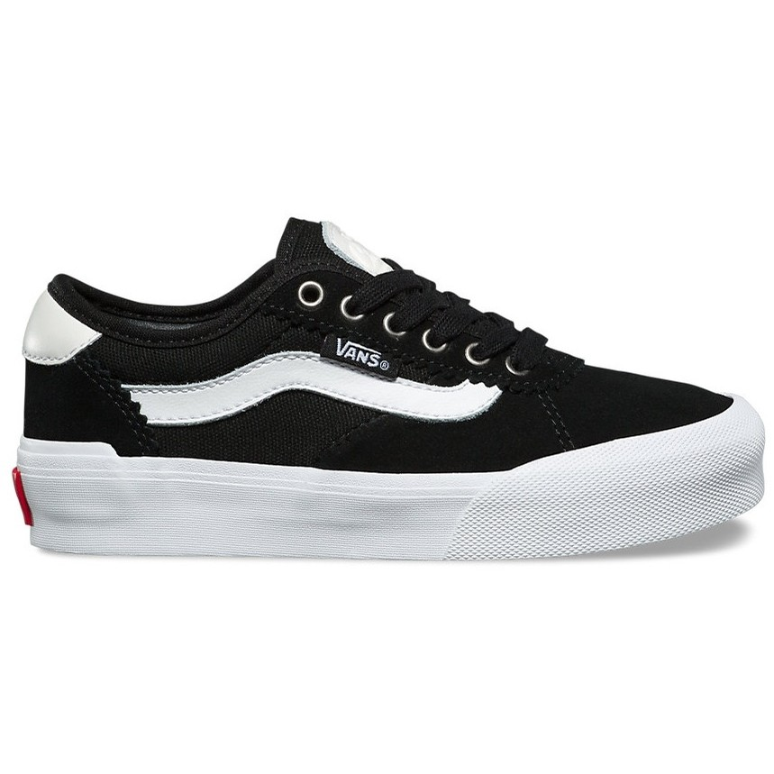 Kids Chima Pro 2 (Suede/Canvas) Black/White