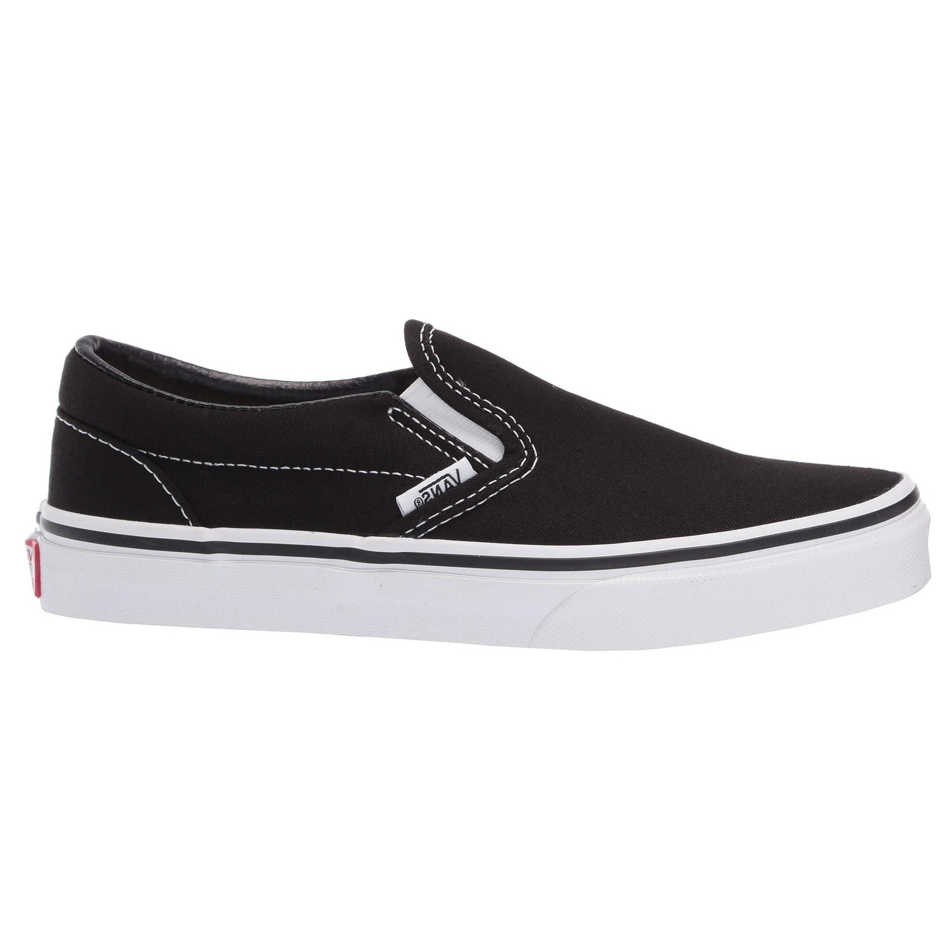 Kids Classic Slip-On (Black/True White)
