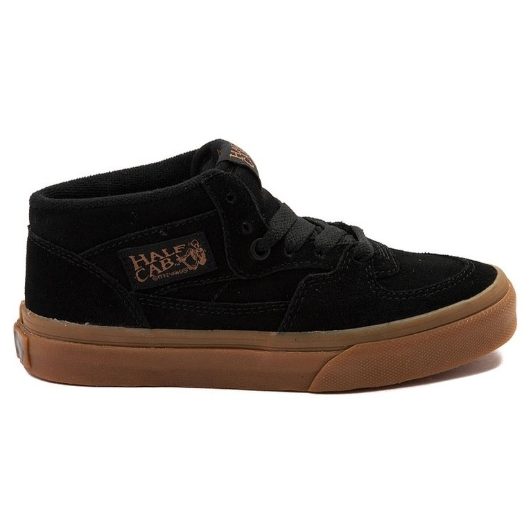 Kids Half Cab (Black/Gum)