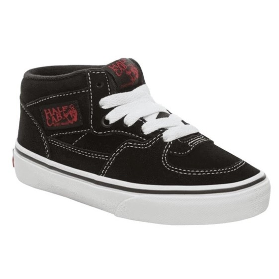 Kids Half Cab (Racing Red/True White)