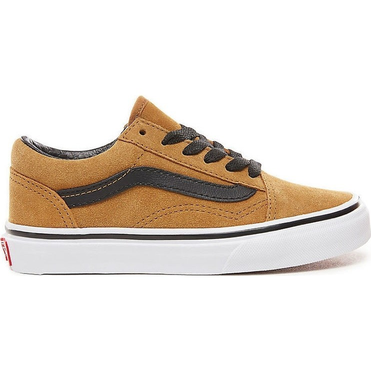 Kids Old Skool (Suede) Cumin/Black