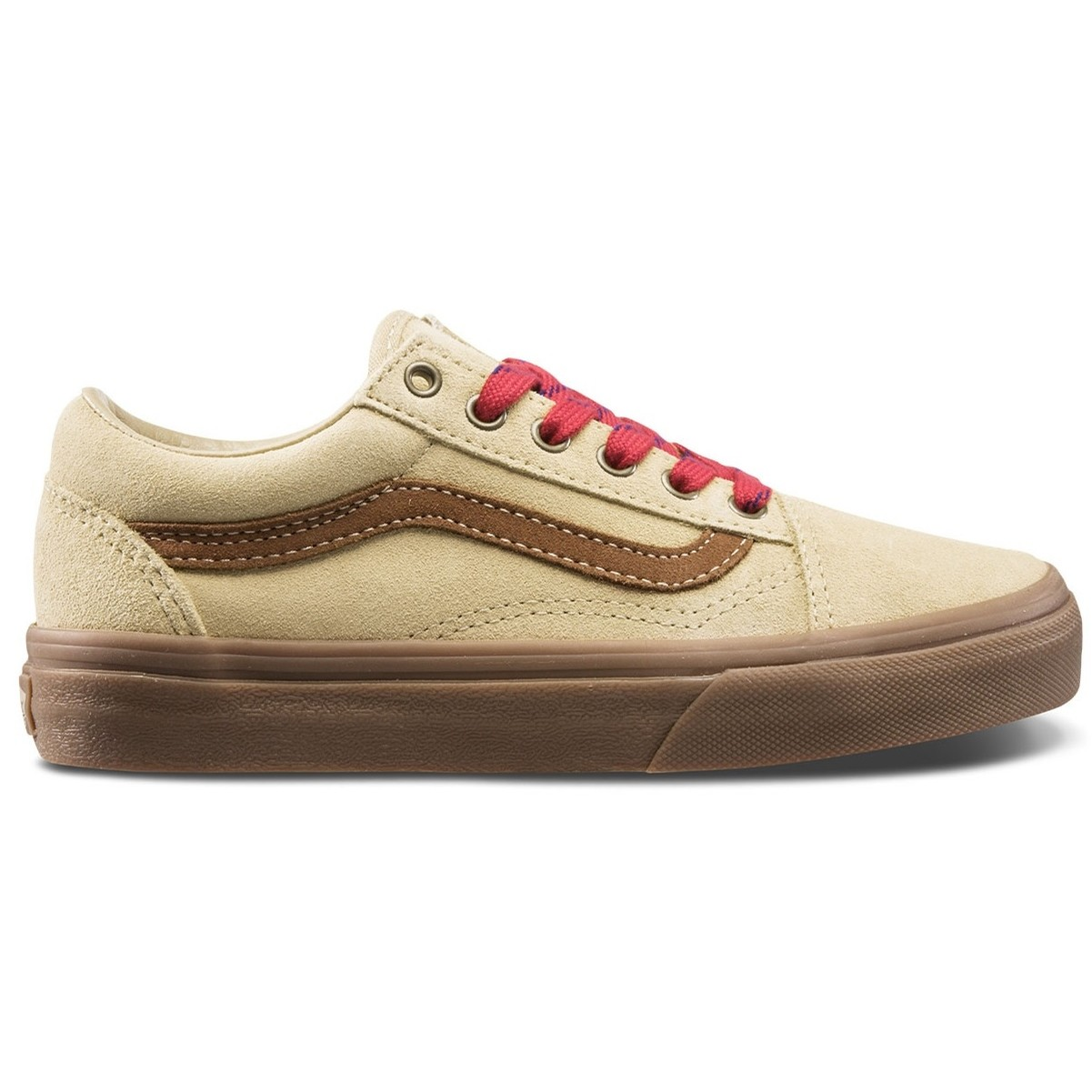 Kids Old Skool (Vans Scout) Latte/Gum