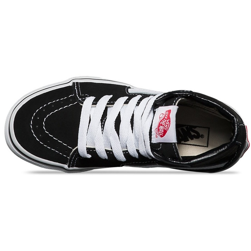 Kids Sk8-Hi (Black/True White)
