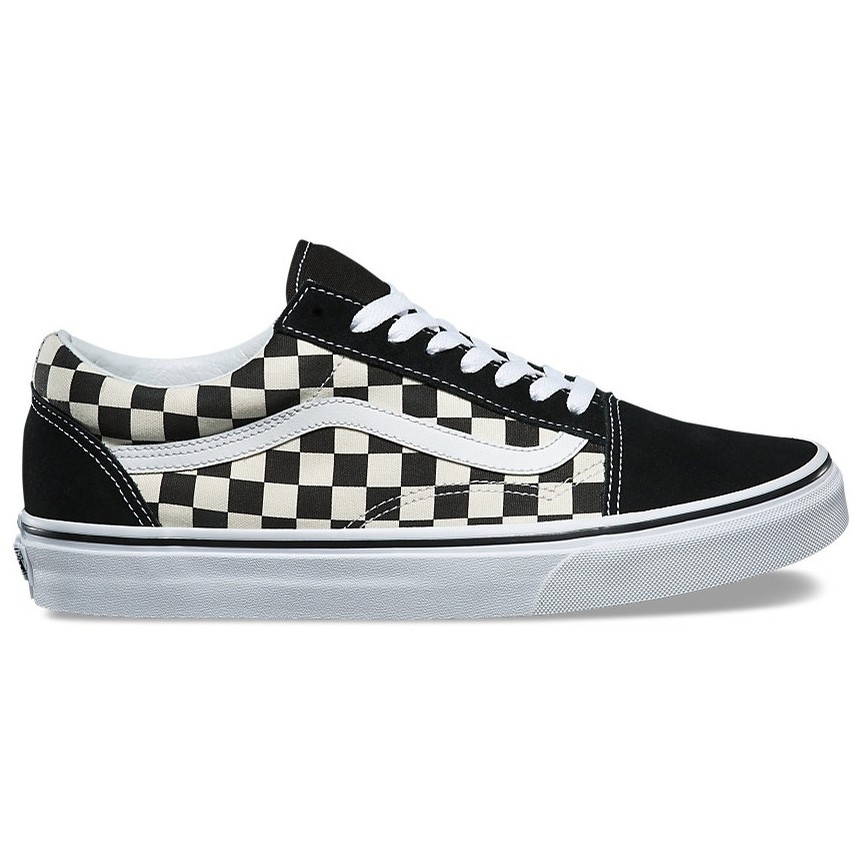 Old Skool (Primary Check) Black/White