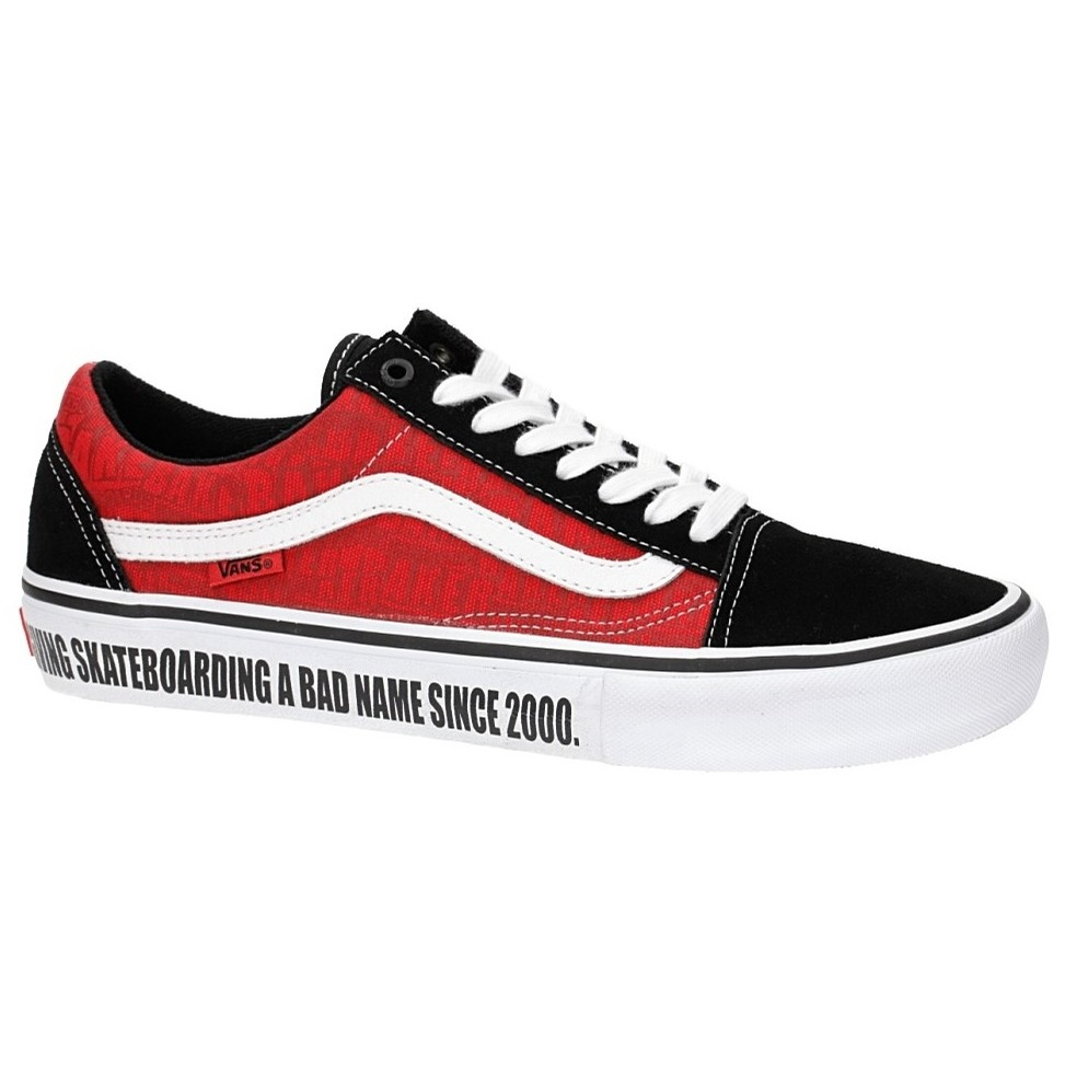 Old Skool Pro (Baker) Black/White/Red