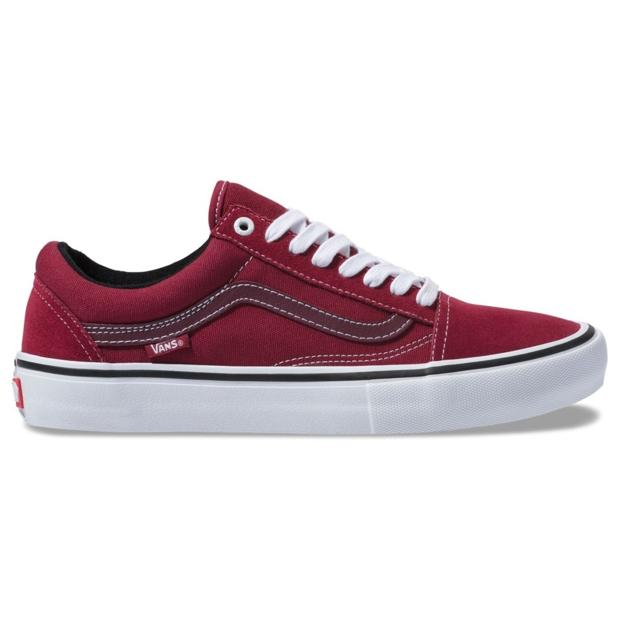 Old Skool Pro (Rumba Red/True White)