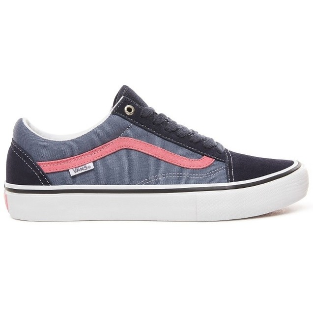 Old Skool Pro (Sky Captain/Pink)