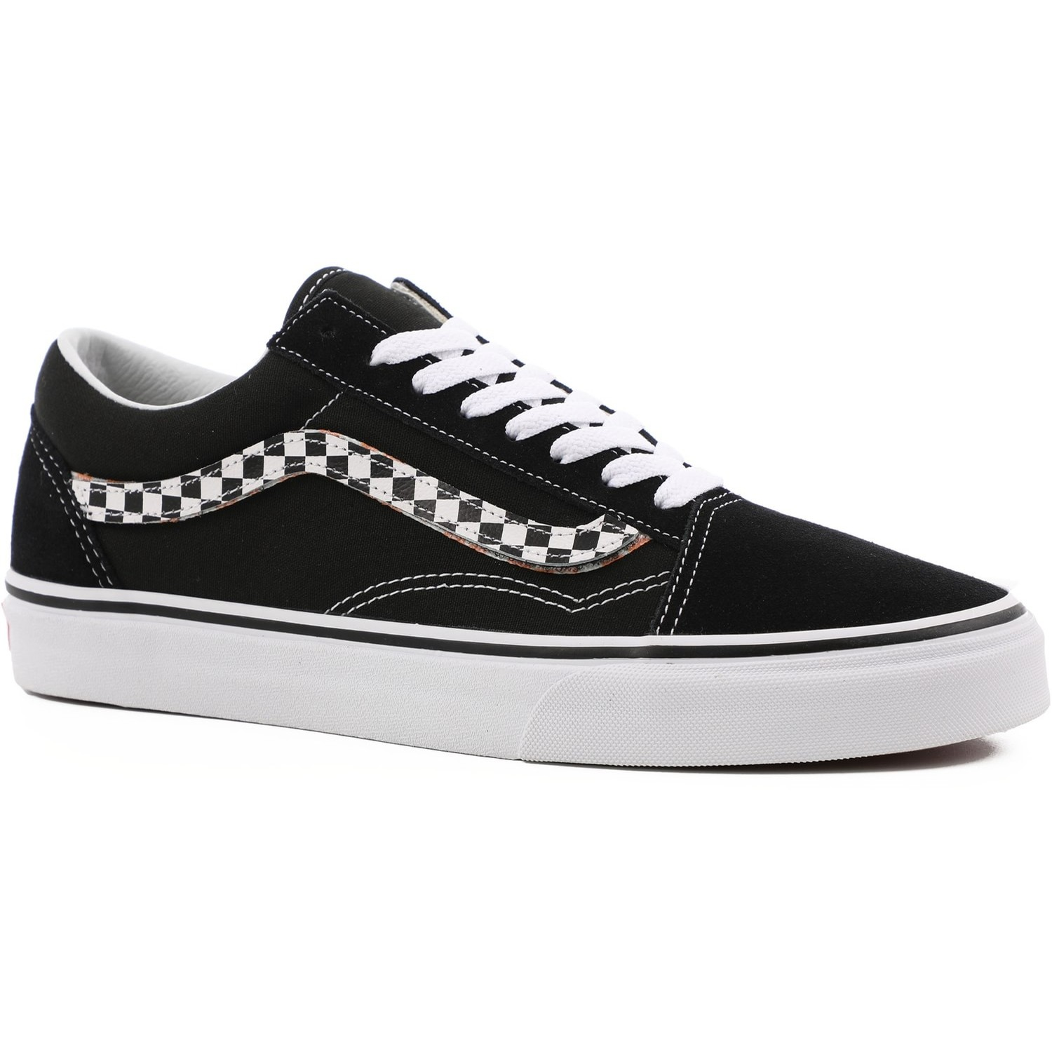 Old Skool (Sidestripe V) Black/True White