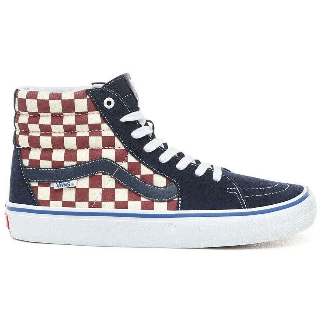 Sk8-Hi Pro (Checker) Dress Blues