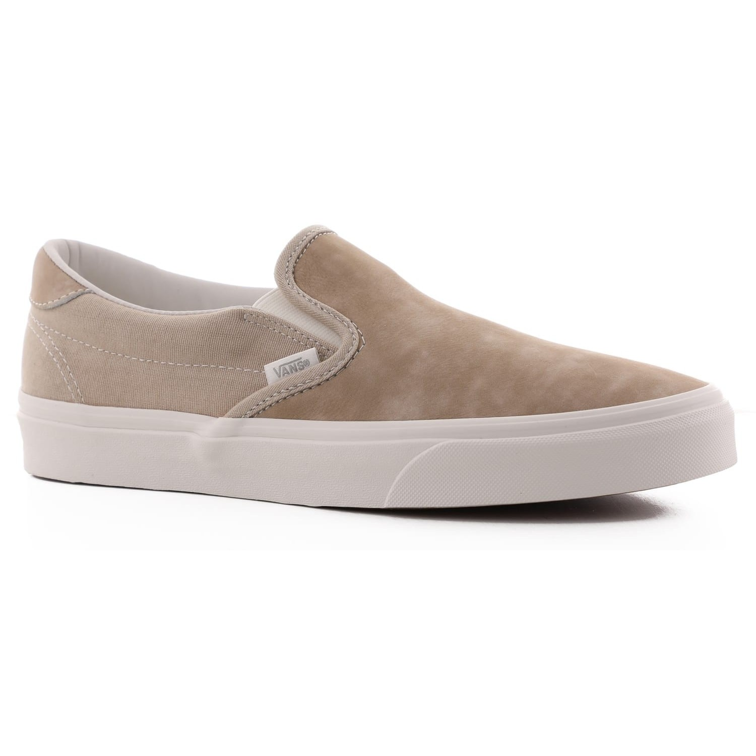 Slip-On 59 (Washed Nubuck/Canvas) Humus/Blanc