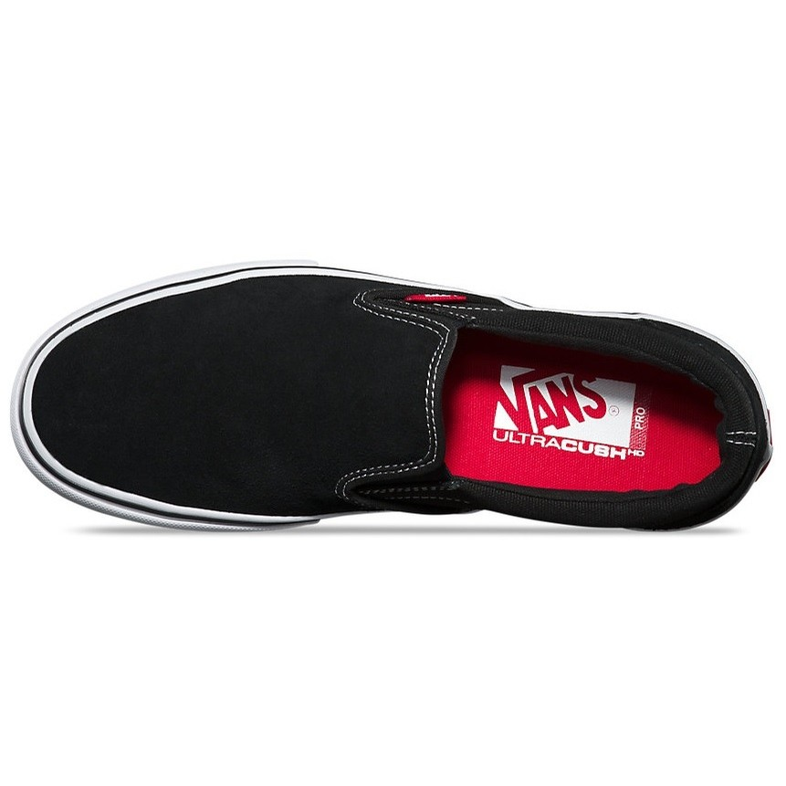 69faed6c84cb19 Slip-On Pro (Black White Gum)