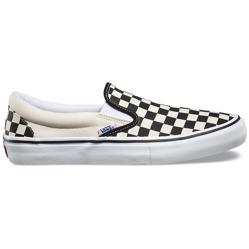 Vans Slip-On Pro (Checkerboard) Black/White