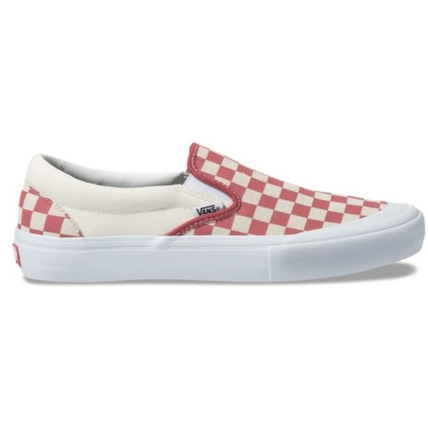 Slip-On Pro (Checkerboard) Mineral Red
