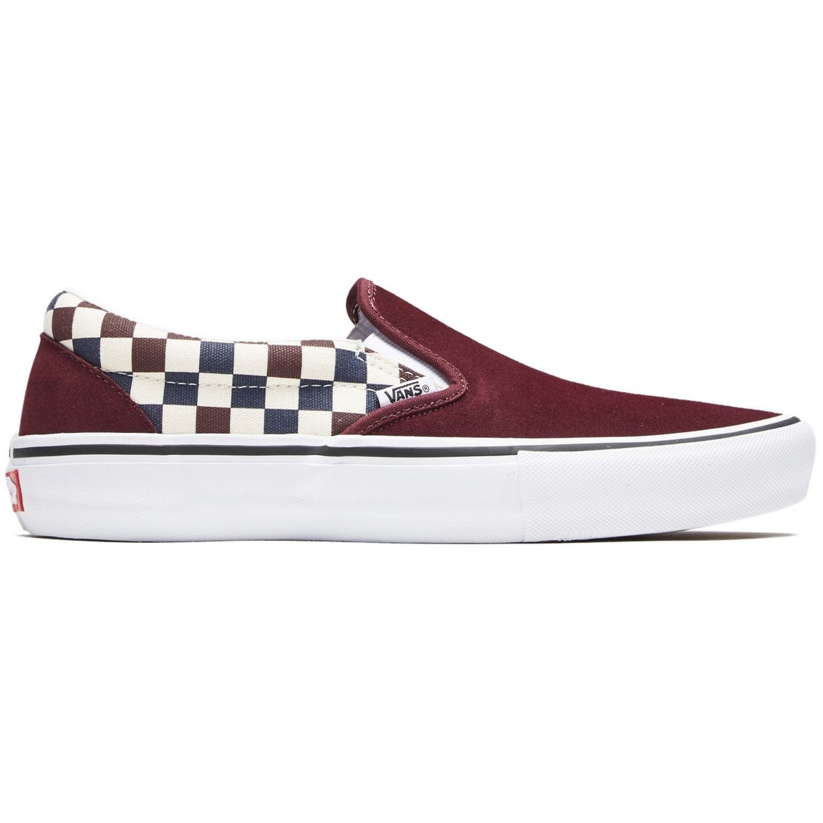 Slip-On Pro (Multi Checker) Port Royale/Dress Blues