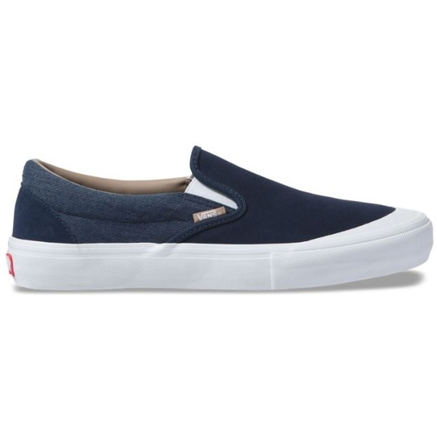 Slip-On Pro (Twill) Dress Blues/Portabella