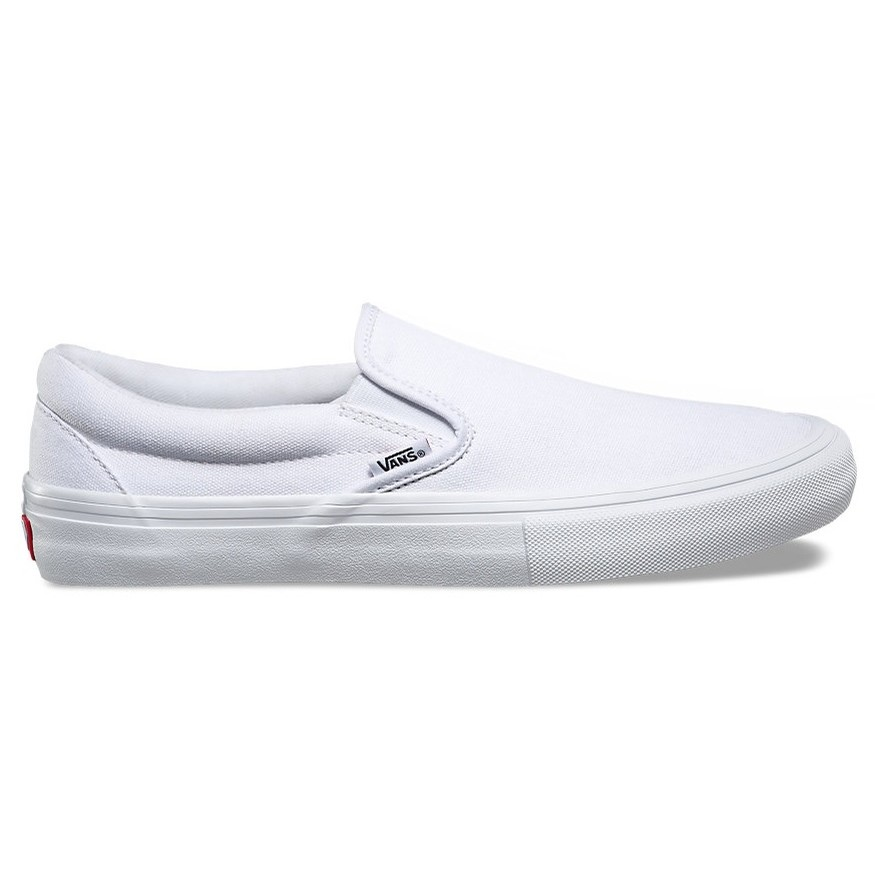 Slip-On Pro (White/White)