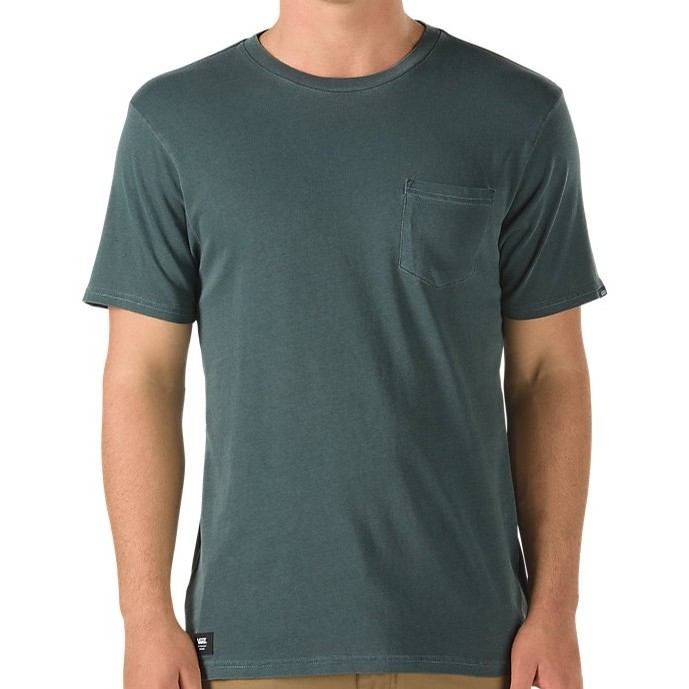 Washed Everyday Pocket Tee (Vans Scarab)