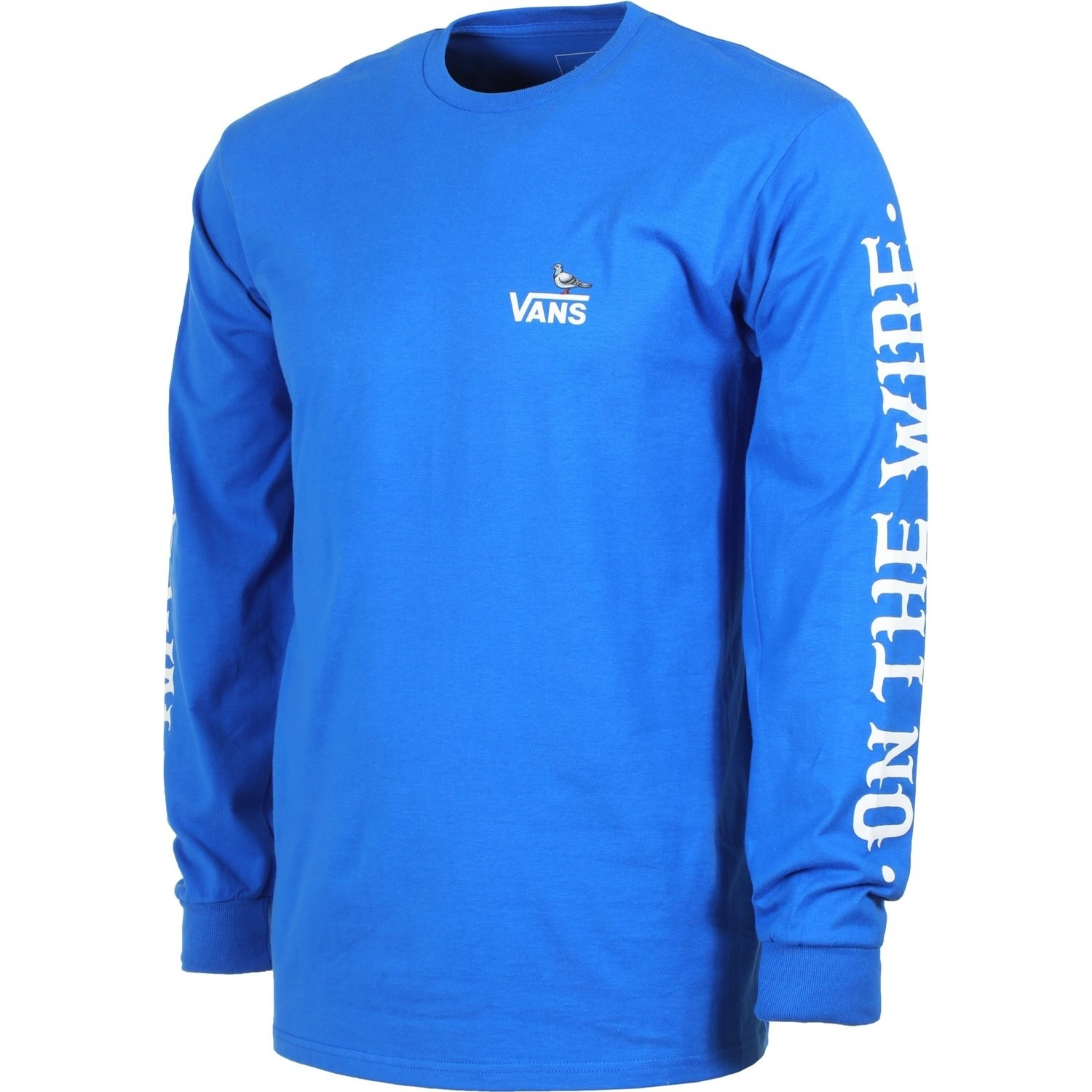 Vans X Antihero On The Wire L/S Tee (Royal Blue)