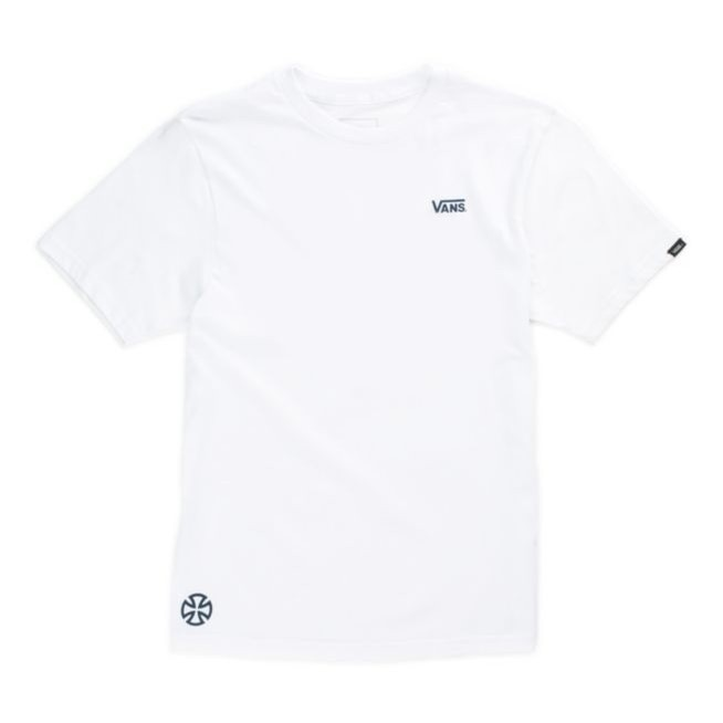 Vans X Independent Dual Logo S/S Youth Tee (White)